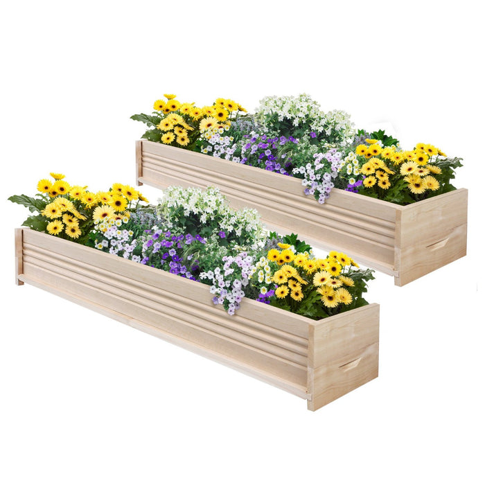 Original Cedar Planter Box 48 in (2 Pack) RCPB1248X2