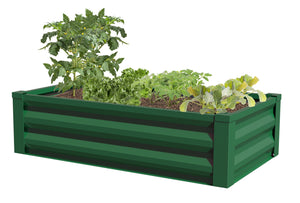 Metal Raised Garden Bed 47 in x 26 in x 12 in RCM24FG