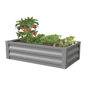 Metal Raised Garden Bed 48 in x 24 in RCM