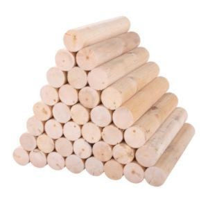 Firewood 11.5 in x 2 in  (40 Pack) RC11FW40C