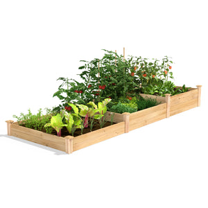Original Cedar Raised Garden Bed 3-Tiered 4 ft x 12 ft RC2T10S31B
