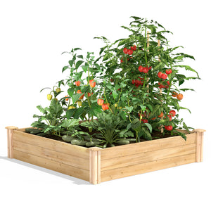 Original Raised Garden Bed 4 ft x 4 ft x 10.5 in RC4T12B / RCP4T12B