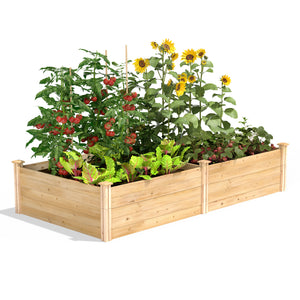 Original Raised Garden Bed 4 ft x 8 ft x 17.5 in RC6S6T35B / RCP6S6T35B