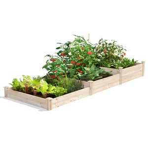 Original Raised Garden Bed 3-Tiered 4 ft x 12 ft RC2T10S31B / RCP2T10S31B