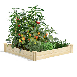 Original Raised Garden Bed 4 ft x 4 ft x 7 in RC4C4 / RCP4C4