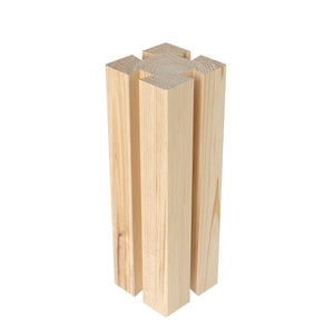 Original Cedar Short Post 8 in x 2.5 in x 2.5 in RCS