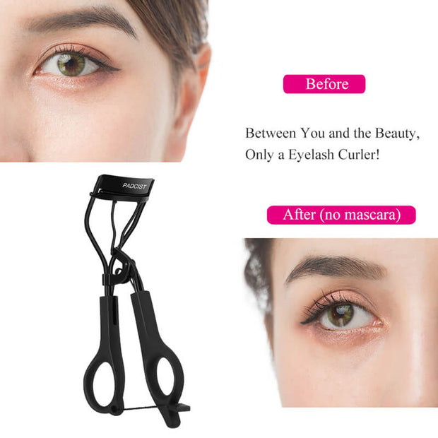 Padcist Eyelash Curler, Beauty Eye Lashes Mini Eyelashes Curler (20% off Discount Code:A35)