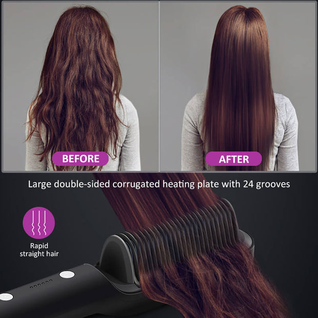 Padcist Hair Straightening Brush-20% off Discount code: P10