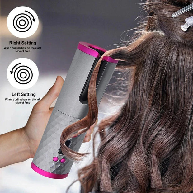 [20% off Discount ($79)code: D10] MagicRod World's First Cordless Automatic Hair Curler