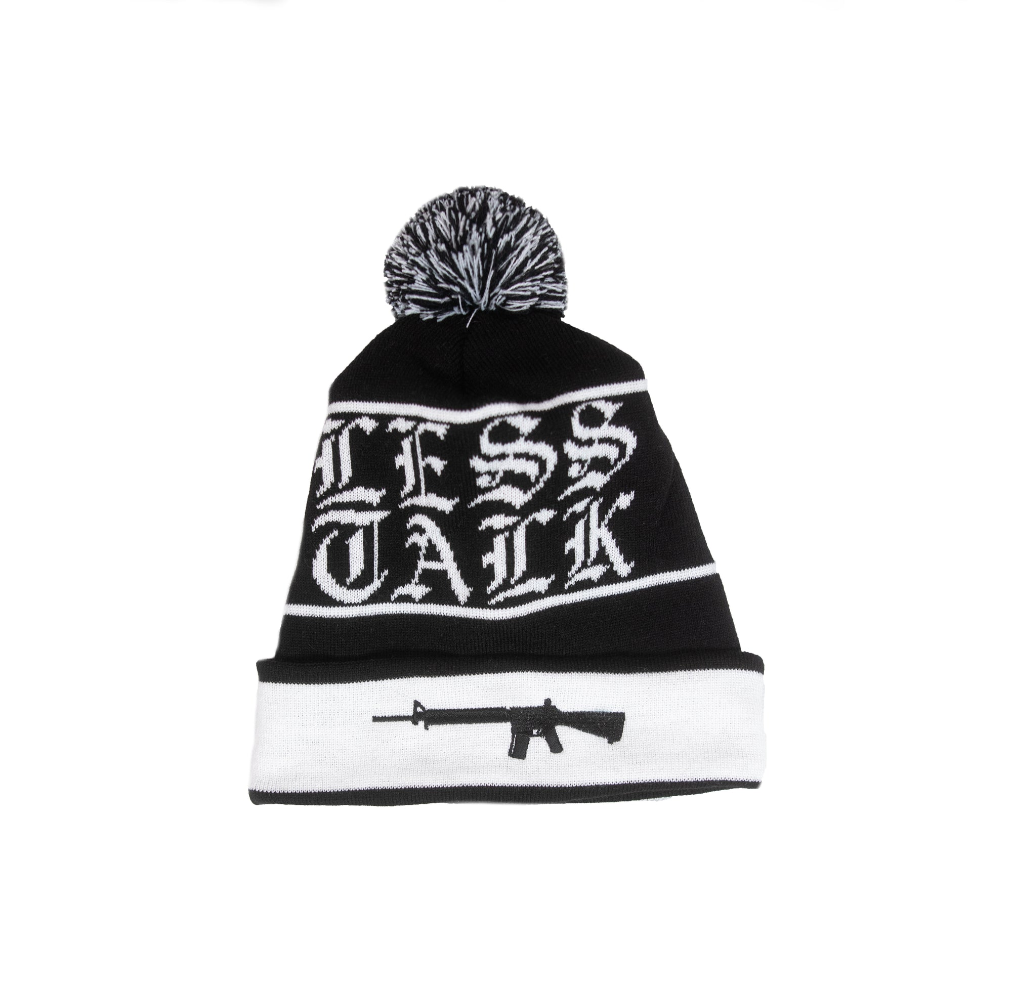 """Less Talk"" Pombeanie"
