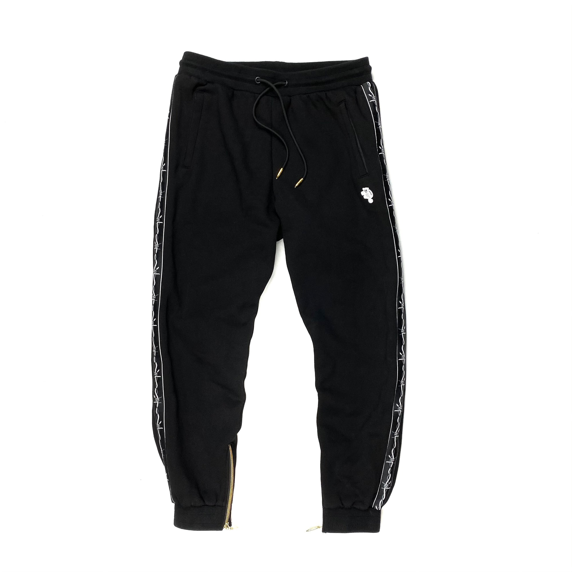 """Striped"" Sweatpants Black"