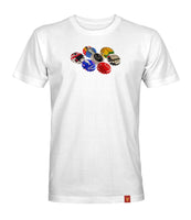 Six Times Bottle Tops tee