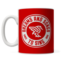 Red DASTS Branded mug