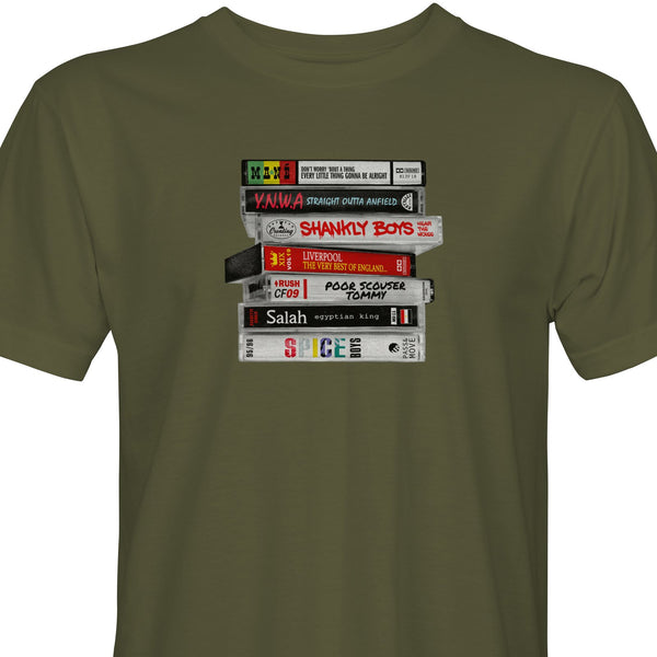 Moving Unit x DASTS Cassettes Stack 1 tee