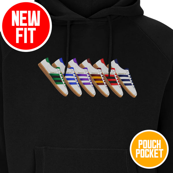 Six Times Trabs pouch hoodie