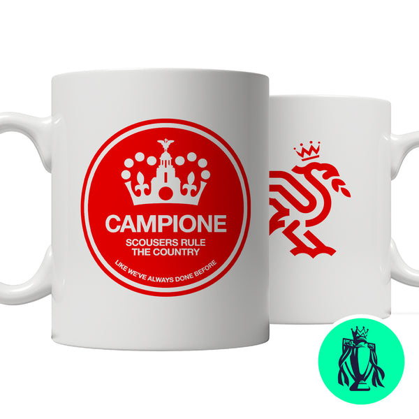 Campione - Scousers Rule The Country Roundel mug
