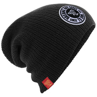 Black Badge slouch beanie