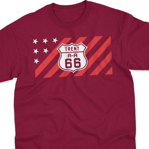 TOURIN' THE USA 'Star Spangled Trent 66' Tee
