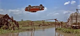The Man with the Golden Gun for its impressive stunt of an AMC Hornet X jumping over a twisted, broken bridge.