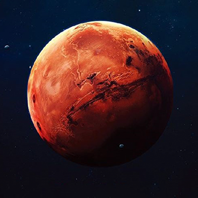 Colorverse The Red Planet