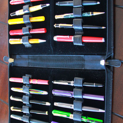 Yak Leather 24 Pen Cases