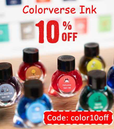 Colorverse ink - 10% off
