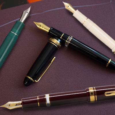 Sailor Fountain Pens
