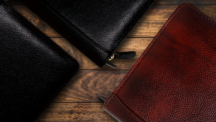 YAK LEATHER PEN POUCHES