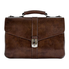 Bosca Old Leather Dolce Teak Flapover Brief