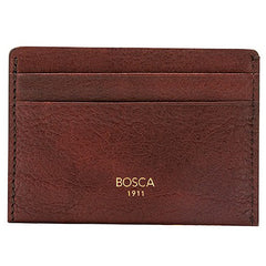 Bosca Washed Weekend Wallet - Dark Brown