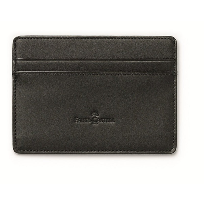 Faber-Castell Classic Black Credit-Card Case
