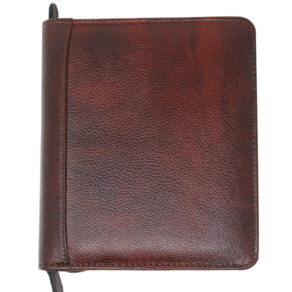 Yak Leather Premium Leather 12 Pen Case Brown