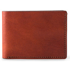 Bosca Washed Small Bifold Wallet - Cognac