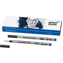Montblanc Rollerball Refill - Writers Edition - Homage to Homer - Medium - 2 Pack