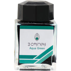 3 Oysters Ink Bottle - Delicious - Aqua Green-Refill - Bottled Ink-Pen Boutique Ltd