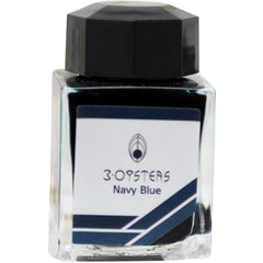 3 Oysters Ink Bottle - Delicious - Navy Blue-Refill - Bottled Ink-Pen Boutique Ltd