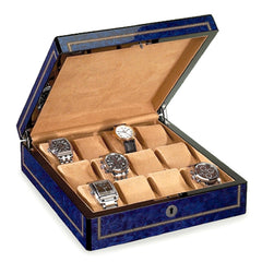 Venlo Blue Twelve Holder Watch Case