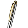 Otto Hutt Series 2 Sterling Silver Barrel Ballpoint Pen Silver Polished