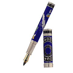 David Oscarson 2012 End of Days Fountain Pen - Sapphire Blue-Pen Boutique Ltd