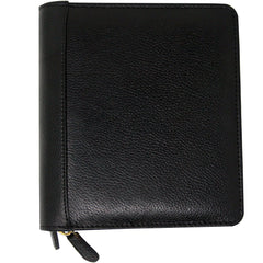 Yak Leather Premium Leather 12 Pen Case Black-Pen Boutique Ltd