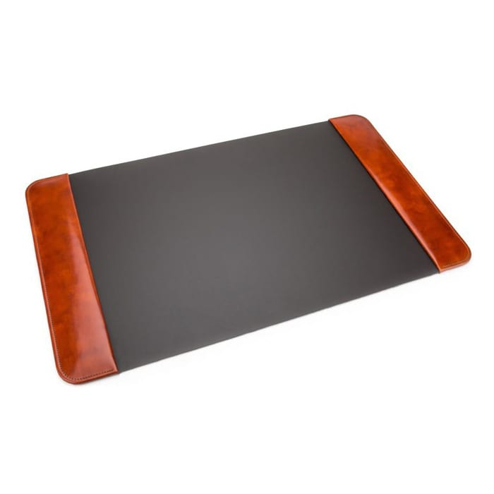 Bosca Old Leather Amber Desk Pad