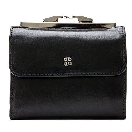 "Bosca 4"" French Purse - Old Leather Classic - Black"