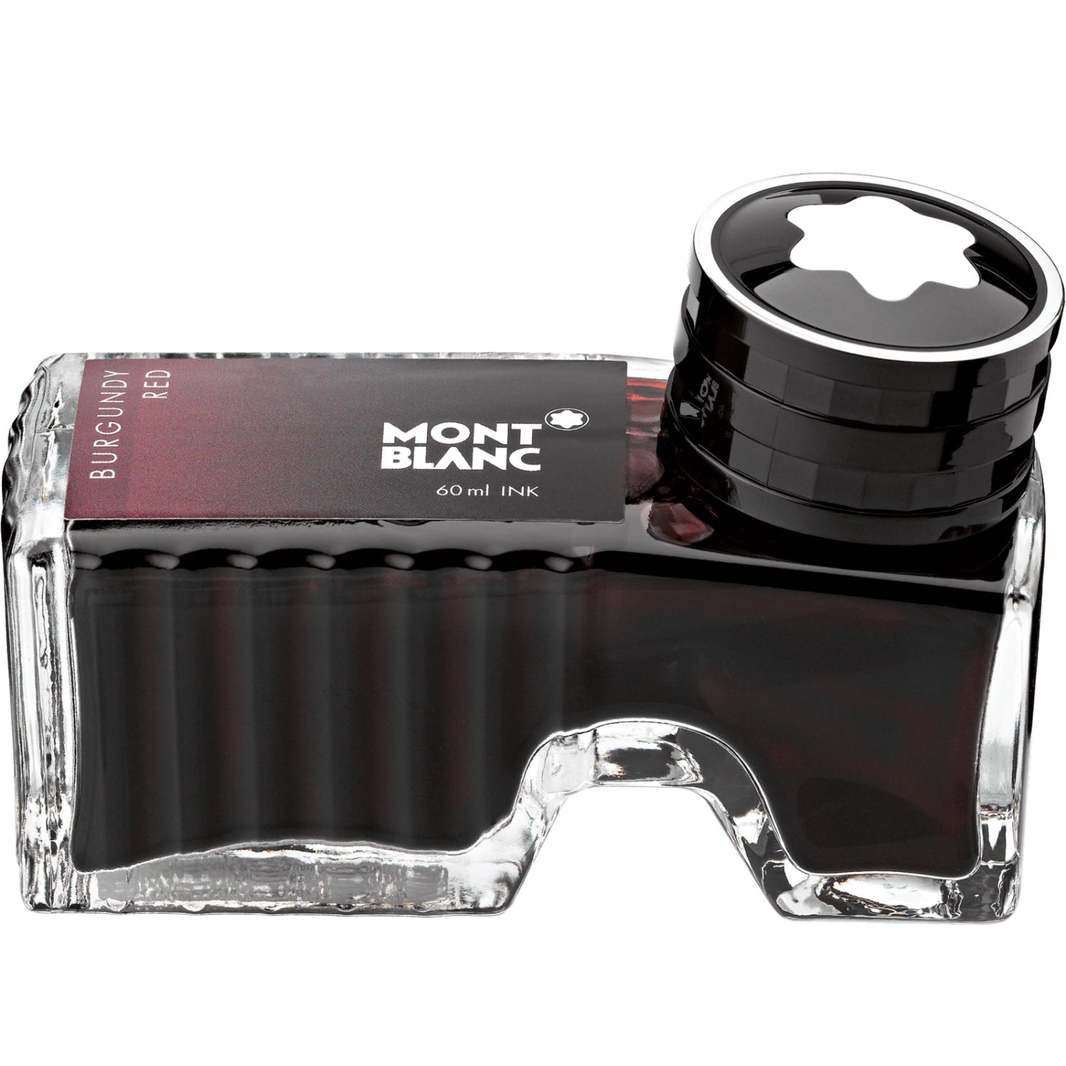 Montblanc Burgundy Red 60ml Ink Bottle Refill