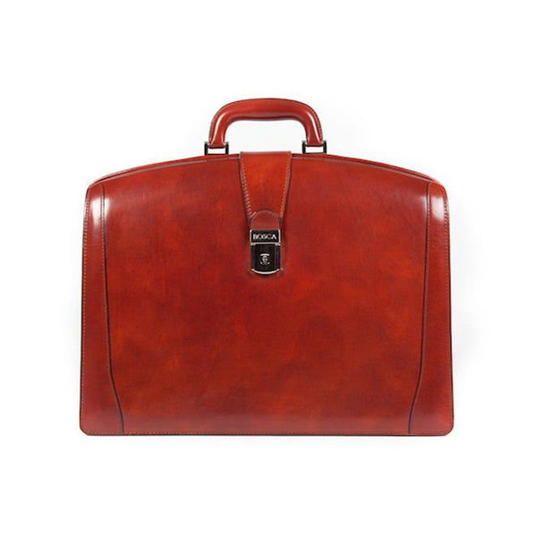 Bosca Partners Brief without Strap Old Leather - Cognac