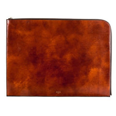 "Bosca Old Leather Amber 16"" Envelope"