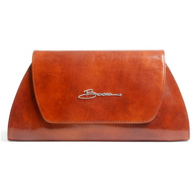 Bosca Old Leather Amber Clutch