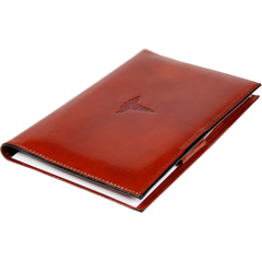 Bosca Old leather for Prescription Pad - Cognac-Pen Boutique Ltd