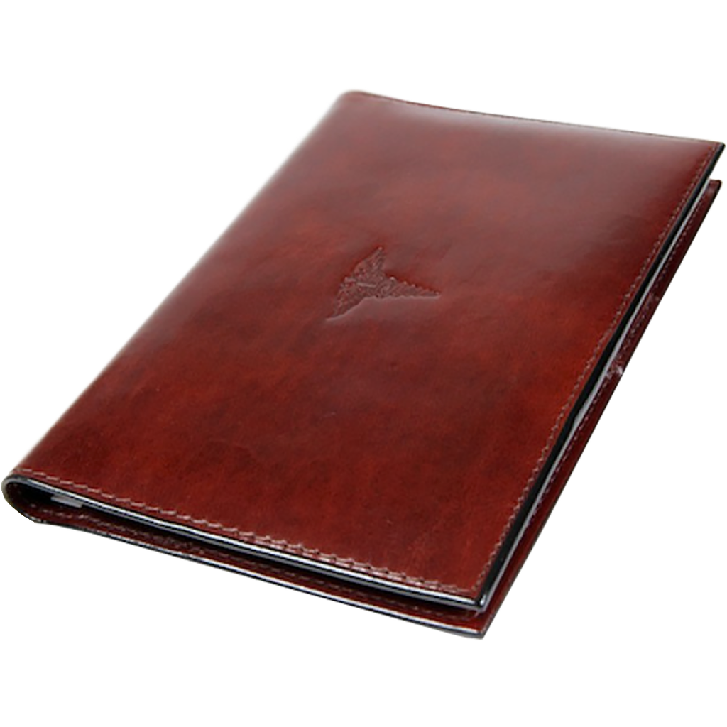 Bosca Old leather for Prescription Pad - Brown-Pen Boutique Ltd
