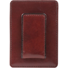 Bosca Old Leather Deluxe Front Pocket Wallet - Brown-Pen Boutique Ltd