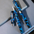 Conklin Mark Twain Crescent Filler Fountain Pen - Vintage Blue - Chrome Trim-Pen Boutique Ltd